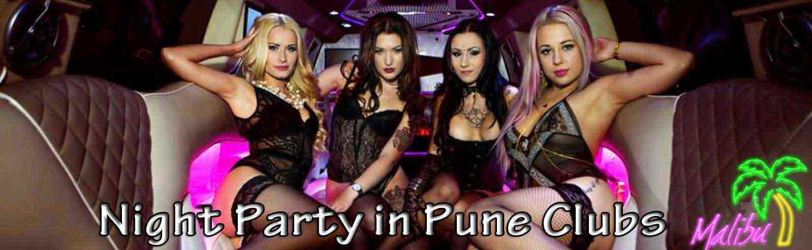 Party Night Escorts in Pune
